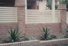 Acton ACT Brick fencing 12