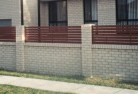 Acton ACT Brick fencing 13
