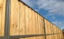 Temporary Fencing Suppliers Lap and Cap Timber Fencing Kwikfynd